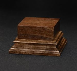 Wooden base - American Walnut 40-40. h-30