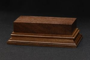 Wooden base - American Walnut 80-40. h-30