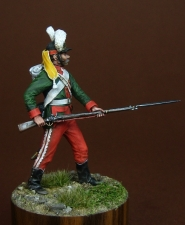 Russian grenadier, 1787-96