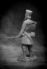 Russian ratnik St.Petersburg (or Simbirsk, or Penza) militia, 1812-13