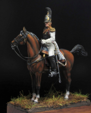 Staff-Officer of the Life-Guard Horse Regiment, Russia 1812-14.