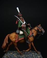 Russian hussar, 1811-14