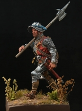 Европейский алебардщик, 1460-75 гг.