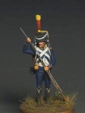 Voltigeur light infantry, France 1809-12.