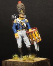 Drummer of the grenadier companies of infantry regiments, Württemberg 1812