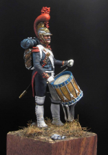 Drummer of a company of engineers of the French Imperial Guard, 1811-14