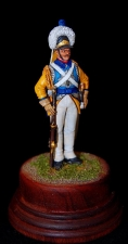 Private Ekaterinoslavskiy cuirassier regiment, Russia end of the 1780s.