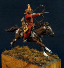Mounted Bashkir - «Northern Amour»,  Russia 1806-14