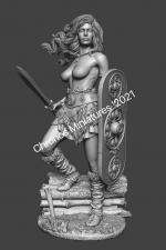 Миры Фэнтези: Кельтская женщина-воин