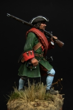 Russian fusilier of infantry regiments, 1709-20