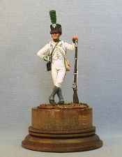 Fuziler of the 5th foreign regiment of the principality Lipe-Delmond, 1807-09