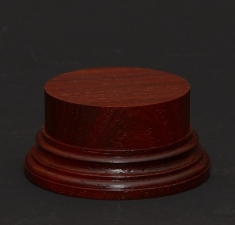 Wooden base - Paduk 50. h-30