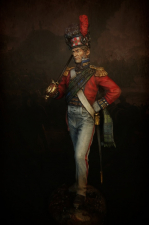 """Officer of the 42nd Royal Highlander regiment of foot """"Black Watch"""", 1815"""