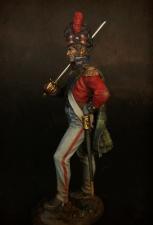 """Офицер 42-го (Королевских Шотландских горцев) пехотного полка """"Черная Стража"""", 1815 г."""