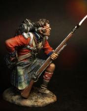 """Рядовой (№2) (Королевских Шотландских горцев) пехотного полка """"Черная Стража"""", 1815 г."""