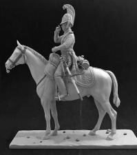 Обер-офицер Лейб-Гвардии Драгунского полка, Россия 1812-14 гг.
