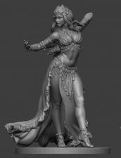 Восточный танец: Девушка №2