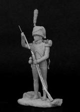 Вольтижер легкой пехоты, Франция 1809-12 гг.