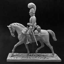 Унтер-офицер Кавалергардского полка. Россия, 1804-06 гг.