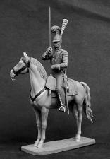 """Офицер саксонского кирасирского полка """"Фон Цастров"""", 1810-13 гг."""