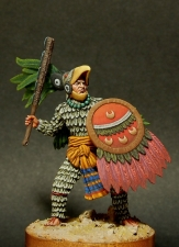 Aztec Eagle warrior, XIV-XVI century
