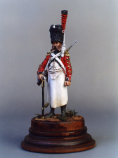 Swiss sapper of the 3th infantry regiment, 1806-08