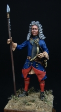 Swedish officer of the infantry regiments, 1700-21