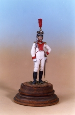 "Officer of the infantry regiment ""King"", Saxony 1810"