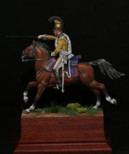 """Саксонский кирасир полка """"Гард Дю Кор"""", 1812 г."""