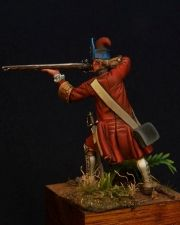 Russian grenadier of the Butyrsky infantry regiment, 1704-09