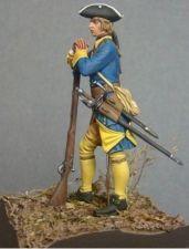 Swedish musketeer of infantry regiment, 1708-21