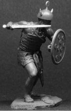 Sherden warrior, XIII-XII cent. B.C.