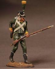 Westphalian jager of Royal Guard, 1809-11