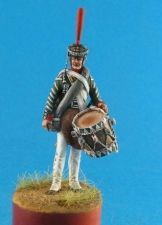 Russian drummer of grenadiers regiments, 1812-17