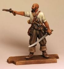 The pirate (№ 1) with the pistol, 1660-80