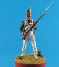 Russian grenadier of the Pavlovskiy grenadier regiment, 1812-13