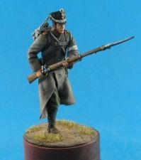 Russian jager of the 19th regiment, 1812-14