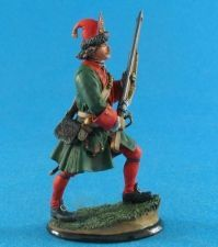 Russian grenadier of Peter I, 1705-09