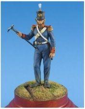 Британский канонир королевской артиллерии, 1854-56 гг.