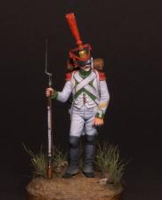 """Капрал Испанского полка линейной пехоты """"Жозеф Наполеон"""", 1809-12 гг."""