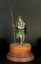 Пехотный сержант из Шампани, Франция 1360-е годы