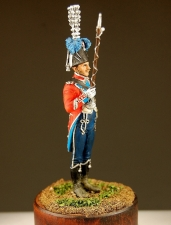 Tambour-Major of the 15th light regiment, France 1811-12