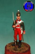 Russian grenadier St. Petersburg of a legion, 1770