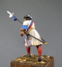 Russian officer of the infantry regiments, 1710-20