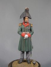 Russian general - Peter Bagration, 1812