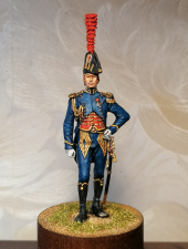 Офицер батальона гвардейских моряков, Франция 1806-13 гг.