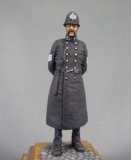 British police sergeant of London, 1865-97