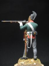 Russian dragoon, 1812-14