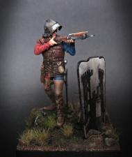 Burgundy crossbowman, 1460-75