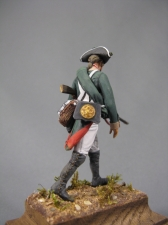Private of musketeers (or fusilier of grenadiers) regiments, Russia 1797-1801